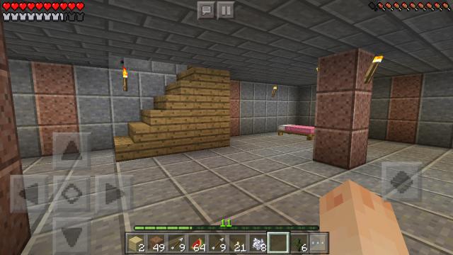 地下室 マイクラ